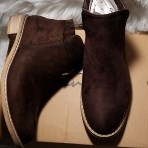 """""""Seven 7 Cisco Kid Booties"""", in a size 8"""
